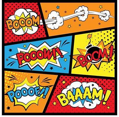 Superhero Birthday Comic Printables Invitations Labels Super