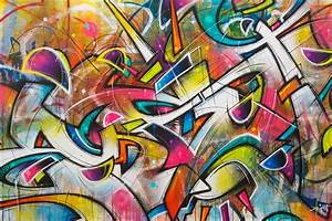 Graffiti, Inspired, Art, Pieces, You, Can, Own, Now