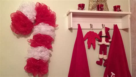 diy dollar tree christmas candy cane wreath