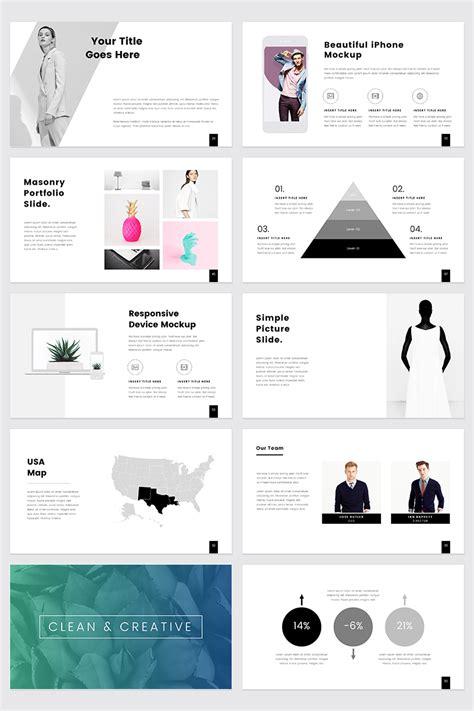 prothom creative  minimal powerpoint template
