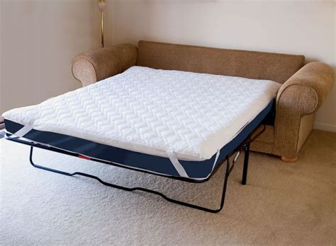 mattress pad for pull out sofa bed how to make a pull out sofa bed more comfortable
