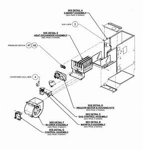 Carrier Model 58cva110 Heater  Gas Genuine
