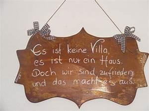 Was Ist Ein Haus : spruchtafel in edelrost edelrostshop ~ Lizthompson.info Haus und Dekorationen