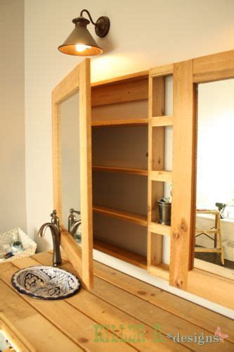 build a medicine cabinet double medicine cabinet how to diy build a single with a