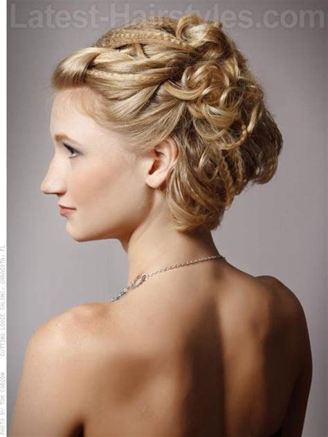 With Hairstyles by 34 Cutest Prom Updos For 2019 Easy Updo Hairstyles