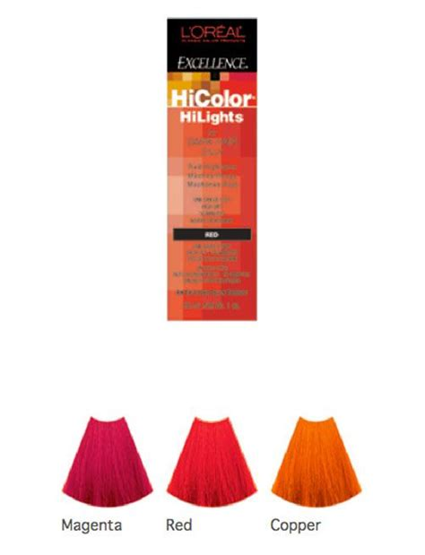 Hair Dye  Loreal Excellence Hicolor Highlights Shade