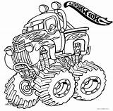 Coloring Pages Monster Truck Digger Grave Drawing Getcolorings Getdrawings Printable Colorin Print Colorings sketch template