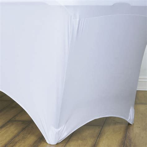 spandex table covers cheap 24 pcs 4 ft rectangle spandex stretch table covers fitted