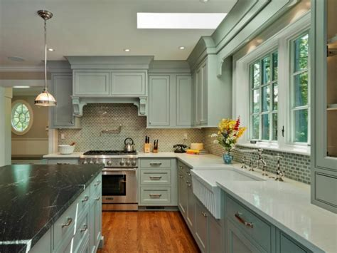 white and green kitchen cabinets tendance 2018 int 233 grer la couleur sauge dans l int 233 rieur 1738
