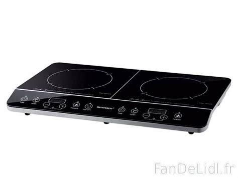 plaque 224 induction cuisson et cuisine fan de lidl fr