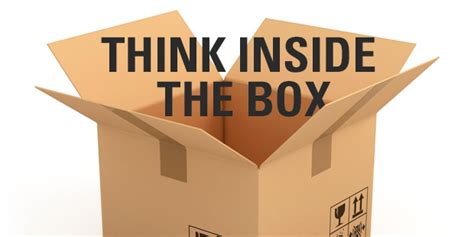 Think Inside The Box by The Vision Room Think Inside The Box The Vision Room