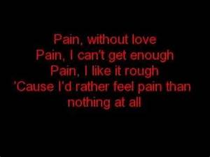 Three Days Grace- Pain w/ lyrics - YouTube