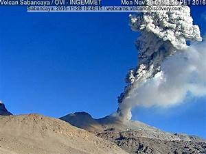 Sabancaya volcano (Peru): vigorous and frequent explosions ...