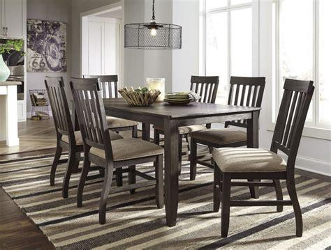 Dresbar  Grayish Brown  Rectangular Dining Room Table