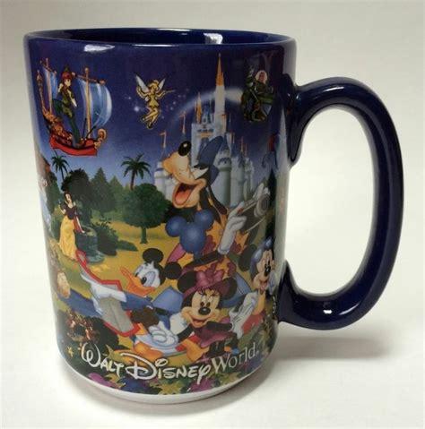 The previous morning mugs were too large, said david. Walt Disney World Parks Coffee Mug Cup Blue Character Medley Mickey M…