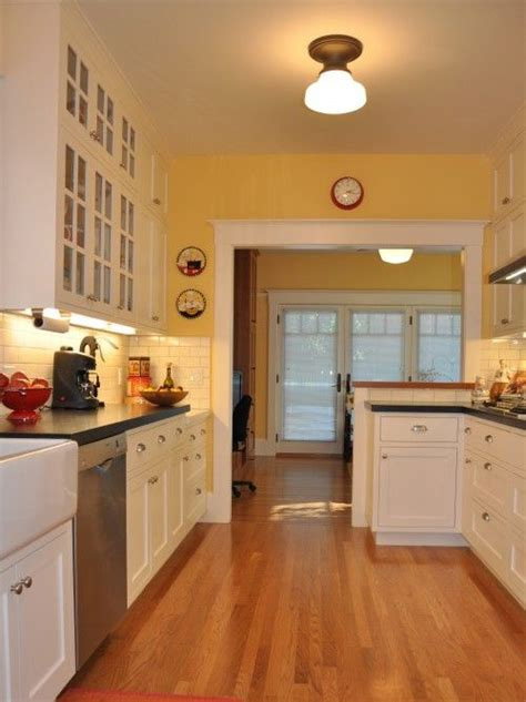 yellow walls check white cabinets check light wood