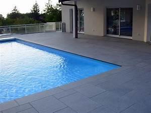 Carrelage Terrasse Piscine : terrasse piscine carrelage simple carrelage terrasse ~ Premium-room.com Idées de Décoration