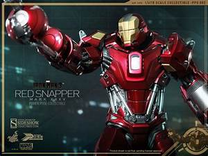 IRON MAN 3 Hot Toys Figures: Iron Man Mark 35 Red Snapper ...
