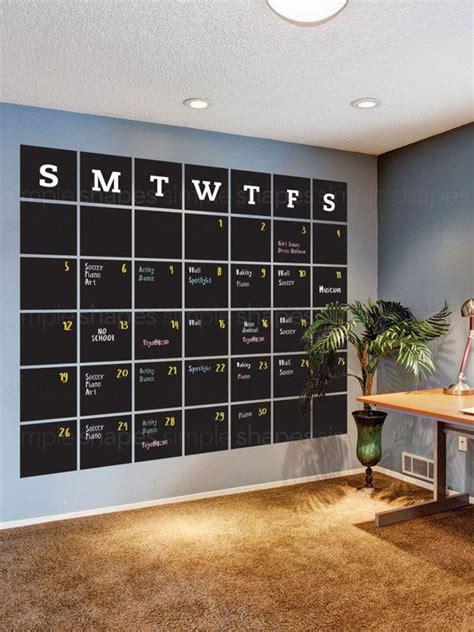 chalkboard wall calendars ideas pinterest diy vinyl wall