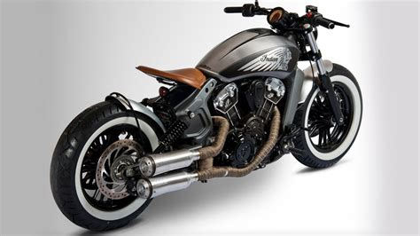 2017 Indian Scout Bobber India Details Here