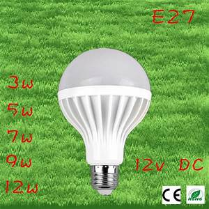 Ampoule Led E27 12v : 2pcs lot led bulbs 9w 12v dc e27 lampada led 12v ampoule ~ Edinachiropracticcenter.com Idées de Décoration