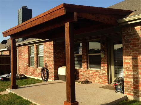 patio cover not attached to house home design ideas