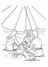 Coloring Tipi Pages Edupics Printable sketch template