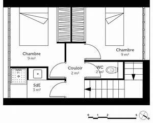 plan petite maison a etage ooreka With plan de petite maison