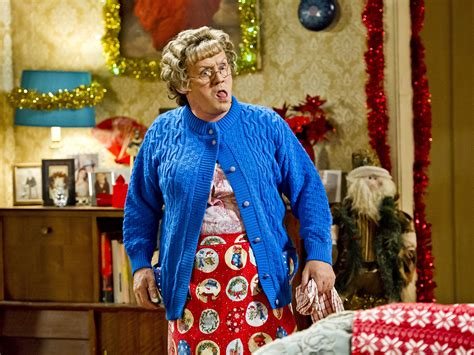 mrs boys christmas special browns bbc brown tv carroll comedy boy brendan dress gay irish schedule series premiere plays independent