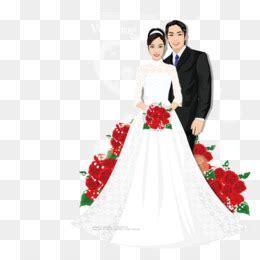 pengantin vektor  gratis gaun pengantin pernikahan