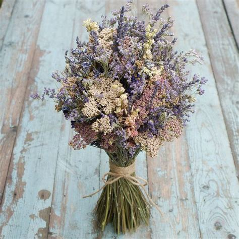 midnight haze dried flower bouquet  englishflowerfarmer