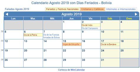 calendario de semana santa