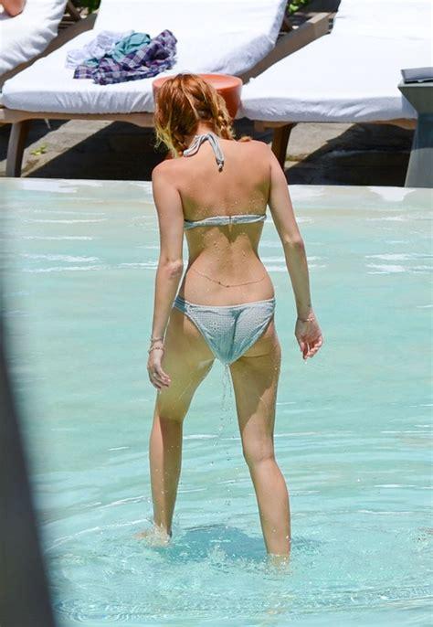 miley cyrus bikini inout  hotel pool  miami