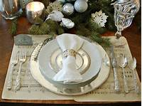 place setting ideas 28 Christmas Table Decorations & Settings | HGTV