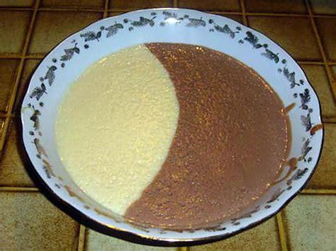 recettes de cremes dessert recette de cr 232 me dessert aux 2 saveurs