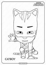 Coloring Pj Masks Catboy Printable Pdf Paw Patrol Chase Jr Disney Coloringoo Cabinet Kitchen Drawing Episodes Mylifeuntethered sketch template