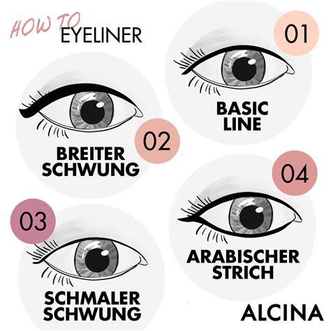 lidstrich ziehen für anfänger eyeliner richtig auftragen mit dem dreipunktetrick gelingt der