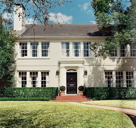 2 story home traditional home exterior lonny magazine