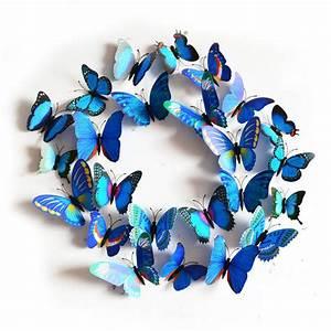 Pcs d butterfly sticker art decal wall stickers home
