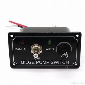 2020 12v Dc Rocker Switch Panel On Off On Bilge Pump