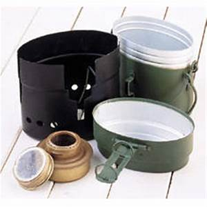 New 3-piece Swedish Army Mess Kit with Cooker, O.D ...