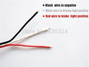 Red Lens 24 Smd Led Rear Bumper Reflector Lamp Add On Tail