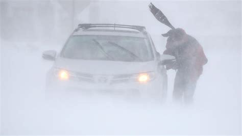 cold weather blizzard conditions  boston area flooding
