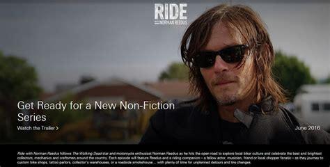 Norman Reedus Is Getting His Own Biking