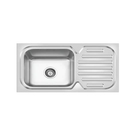 bowl kitchen sink with drainboard b4512202 junior matt cera sanitaryware limited 9612