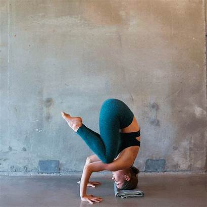 Yoga Corepower Stress Sequence Relief Headstand Tripod