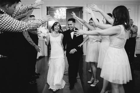 Great Gatsby themed wedding 1920s inspired wedding 100