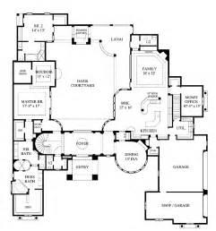 courtyard plans splendid mediterranean with interior courtyard hwbdo61220 mediterranean house plan from