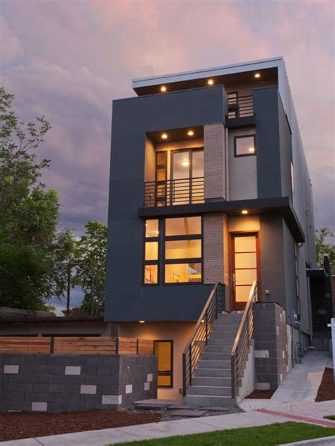 decorative story townhouse modern townhouse home design ideas pictures remodel and
