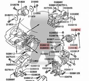 1999 Mitsubishi Gto Transmission Diagram For A Removal